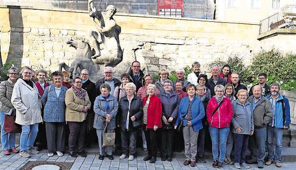 SPD Ortsverein Röslau unterwegs in Bayreuth