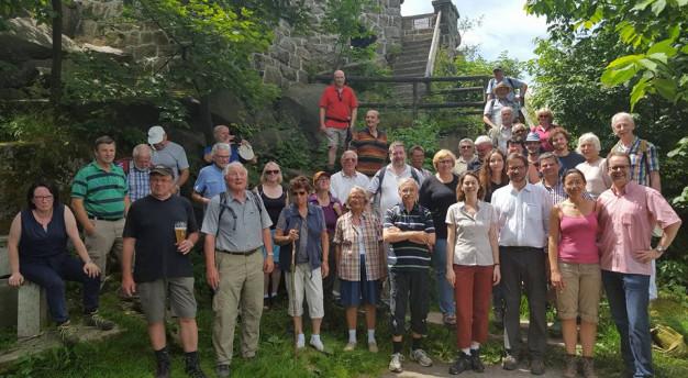 Bergauf-Tour auf die Kösseine am 10.07.2016