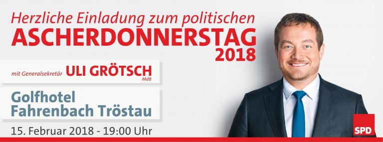 Politischer Ascherdonnerstag in Tröstau